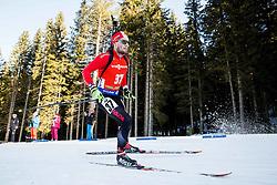 Christian Gow (CAN) during Men 12,5 km Pursuit at day 3 of IBU Biathlon World Cup 2015/16 Pokljuka, on December 19, 2015 in Rudno polje, Pokljuka, Slovenia. Photo by Vid Ponikvar / Sportida
