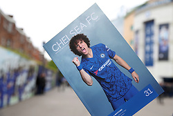 A general view of a matchday programme during the Premier League match at Stamford Bridge, London.