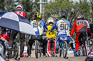 #194 (VILLEGAS Federico) ARG and #90 (MARINO CARLOMAGNO Ramiro) ARG at the 2016 UCI BMX Supercross World Cup in Santiago del Estero, Argentina