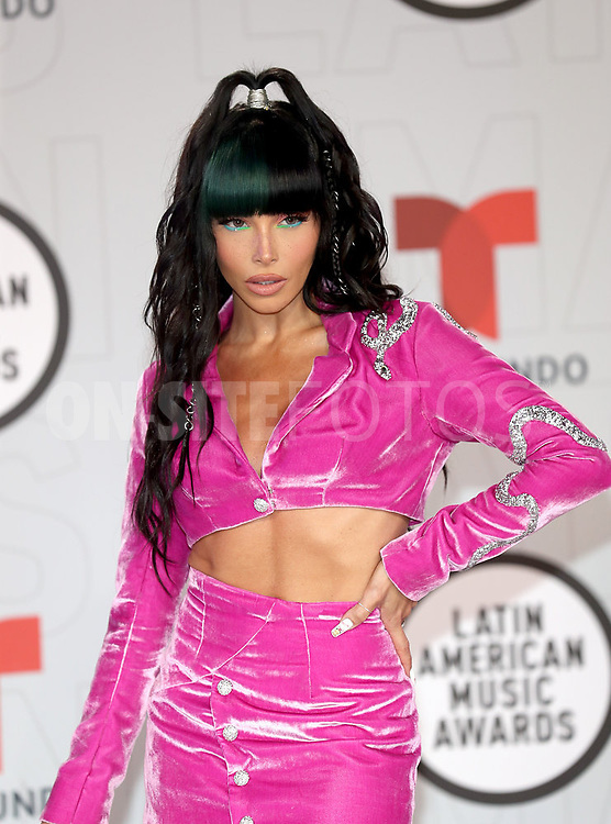 """2021 LATIN AMERICAN MUSIC AWARDS -- """"Red Carpet"""" -- Pictured: Chesca at the BB&T Center in Sunrise, FL on April 15, 2021 -- (Photo by: Aaron Davidson/Telemundo)"""