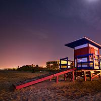No Lifeguard On Duty. Cocoa Beach, Fla.