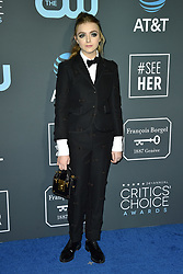 Elsie Fisher attends the 24th annual Critics' Choice Awards at Barker Hangar on January 13, 2019 in Santa Monica, CA, USA. Photo by Lionel Hahn/ABACAPRESS.COM