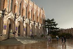 United States, Washington, Seattle, University of Washington library