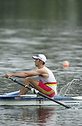 Hazewinkel. BELGUIM  GBR LM1X. Tim MALE. 2004 GBR Rowing Trials - Rowing Course, Bloso, Hazewinkel. BELGUIM. [Mandatory Credit Peter Spurrier/ Intersport Images]