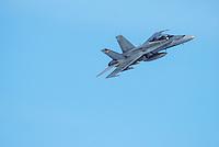 McDonnell-Douglas CF-18 Fighter rolling in