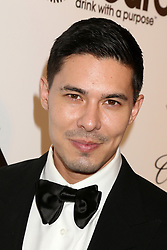 February 24, 2019 - West Hollywood, CA, USA - LOS ANGELES - FEB 24:  Lewis Tan at the Elton John Oscar Viewing Party on the West Hollywood Park on February 24, 2019 in West Hollywood, CA (Credit Image: © Kay Blake/ZUMA Wire)