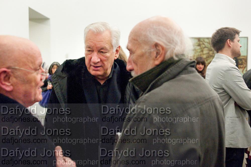 RALPH SELBY; MICHAEL CRAIG-MARTIN; RICHARD HAMILTON;, Modern Moral Matters. Exhibition of work by Richard Hamilton. Serpentine. London. 2 March 2010