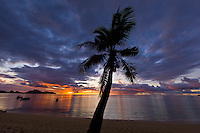 Sunset, Tokoriki Island Resort, Fiji Islands