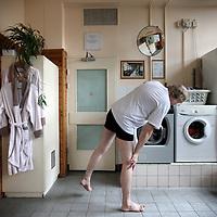 Nederland, Amsterdam , 5 februari 2011..Stichting Da Costa Badhuis en Sauna is het laatste badhuis van Amsterdam...Bezoekers kunnen ook tegen een vergoeding hun was daar doen..Eventuele BIJFOTO!.Foto:Jean-Pierre Jans