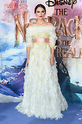 Keira Knightley attending the European Premiere of The Nutcracker and the Four Realms held at the Vue, Westfield London. Picture date: Thursday November 1st 2018. Photo credit should read: Matt Crossick/ EMPICS Entertainment.