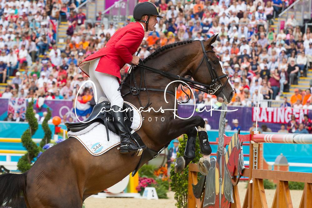 Ehning Marcus (GER) - Plot Blue<br /> Olympic Games London 2012<br /> © Dirk Caremans
