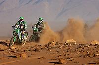 Motor<br /> Paris Dakar 2004<br /> Foto: Digitalsport<br /> Norway Only<br /> 07.01.2004<br /> <br /> ERIC PIROUD - ERIC CROQUELOIS / KTM
