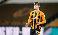 Hull City's Keane Lewis-Potter<br /> <br /> Photographer Chris Vaughan/CameraSport<br /> <br /> The EFL Sky Bet League One - Hull City v Blackpool - Saturday 16th January 2021 - KCOM Stadium - Kingston upon Hull<br /> <br /> World Copyright © 2021 CameraSport. All rights reserved. 43 Linden Ave. Countesthorpe. Leicester. England. LE8 5PG - Tel: +44 (0) 116 277 4147 - admin@camerasport.com - www.camerasport.com