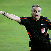Referee's Mustafa Kamil Abitoglu during their Turkish superleague soccer match Besiktas between Torku Konyaspor at Osmanli Stadium in Ankara Turkey on Monday 18 May 2015. Photo by Aykut AKICI/TURKPIX
