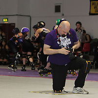 Rainy CIty Roller Derby's Bet Lynch Mob take on  Croydon Roller Derby's Vice Squad at The Thunderdome, Oldham, United Kingdom, 2016-10-22