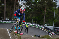 #4 (RENCUREL Jeremy) FRA during round 3 of the 2017 UCI BMX  Supercross World Cup in Zolder, Belgium,