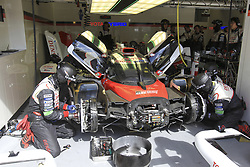 June 4, 2017 - Le Mans, France - 9 TOYOTA GAZOO RACING (JPN) TOYOTA TS050 HYBRID LMP1 NICOLAS LAPIERRE (FRA) JOSE MARIA LOPEZ (ARG) YUJI KUNIMOTO  (Credit Image: © Panoramic via ZUMA Press)