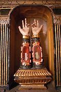 Retablo de las Reliquias in the Cathedral Museum, Santo Domingo, Spain.