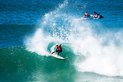 Jul 17, 2017 - Jeffries Bay, South Africa - Sebastien Zietz of Hawaii placed equal 25th Round at the Corona Open J-Bay after his elimination from the event by Leonardo Fioravanti from Italy at Supertubes. (Credit Image: © Kelly Cestari, Pierre Tostee/World Surf League via ZUMA Wire)