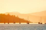 Sunrise , Saltspring Island (Gulf Islands), British Columbia, Canada