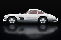 The Mercedes 300 SL Gullwings is the most coveted Mercedes among car collectors and therefore the most expensive. If you can see this Mercedes 300 SL Gullwings for once in real life you will do everything to sit in it, let alone drive it. On this painting I pictured it in a closed version. Usually you see the Mercedes 300 SL Gullwings with its doors open but just like this Mercedes I am averse to the influence of others.<br /> <br /> This painting of a Mercedes 300 SL Gullwings can be printed very large on different materials. -<br /> BUY THIS PRINT AT<br /> <br /> FINE ART AMERICA<br /> ENGLISH<br /> https://janke.pixels.com/featured/mercedes-300-sl-gullwings-lateral-view-jan-keteleer.html<br /> <br /> WADM / OH MY PRINTS<br /> DUTCH / FRENCH / GERMAN<br /> https://www.werkaandemuur.nl/nl/shopwerk/Mercedes-300-SL-Gullwings-Zijaanzicht/738493/132?mediumId=11&size=75x50<br /> <br /> -