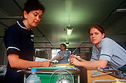A senior nursing Sister and a junior nurse work in a 1990s ward at the Royal London, Whitechapel, on 23rd June 2018, in east London, England. (Photo by Richard Baker / In Pictures via Getty Images)