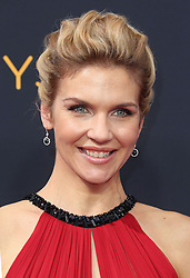 Rhea Seehorn arriving for The 68th Emmy Awards at the Microsoft Theater, LA Live, Los Angeles, 18th September 2016.