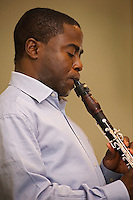 The winner of an Avery Fisher Career Grant, Anthony McGill currently serves as principal clarinet of the Metropolitan Opera Orchestra. Mr. McGill performed at the 56th Presidential Inauguration ceremony, January 20, 2009. The clarinetist appeared alongside violinist Itzhak Perlman, cellist Yo-Yo Ma, and pianist Gabriela Montero, playing a musical selection arranged by composer John Williams.