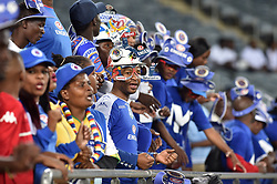 South Africa: Johannesburg: SuperSport United supporters in numbers attending the Absa Premiership against Orlando Pirates at the Orlando stadium, Gauteng. <br />Picture: Itumeleng English/African News Agency (ANA)