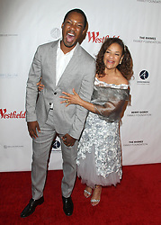 Joe Morton 'Turn Me Loose' opening at the Wallis at he Wallis Annenberg Center for the Performing Arts in Beverly Hills, California on 10/15/17. 15 Oct 2017 Pictured: Corey Hawkins, Debbie Allen. Photo credit: River / MEGA TheMegaAgency.com +1 888 505 6342