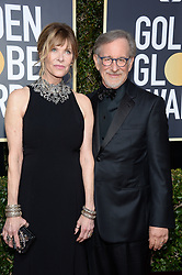 Kate Capshaw, Steven Spielberg attending the 75th Annual Golden Globes Awards held at the Beverly Hilton in Beverly Hills, in Los Angeles, CA, USA on January 7, 2018. Photo by Lionel Hahn/ABACAPRESS.COM