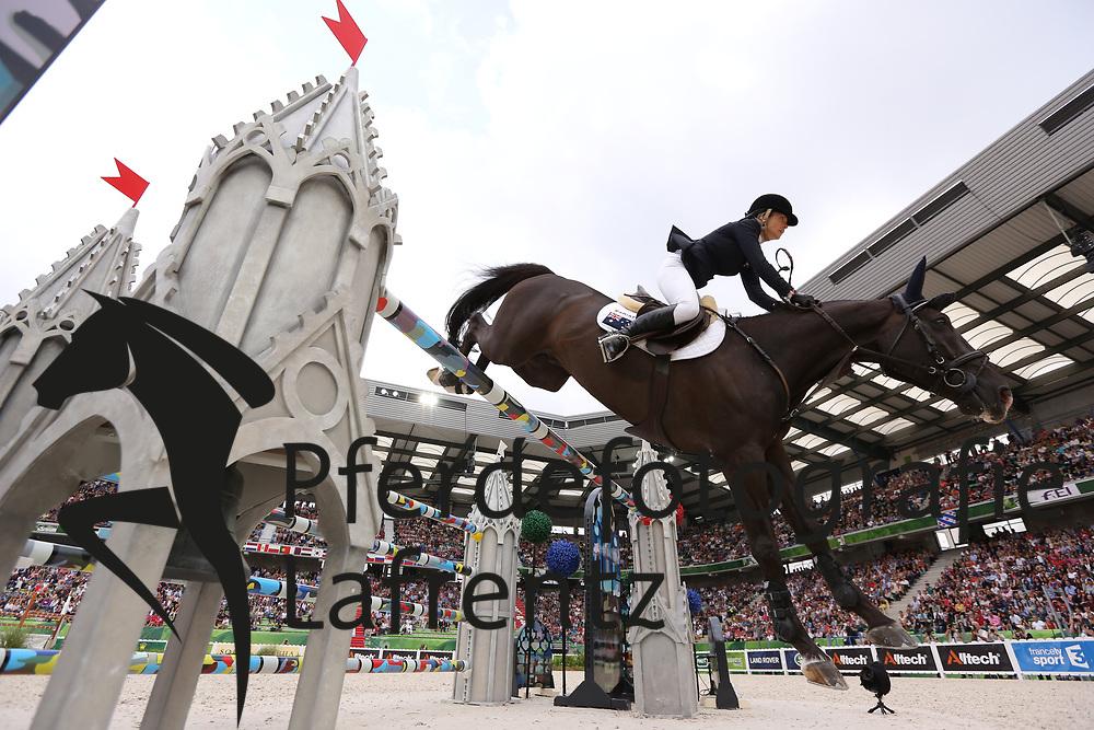 Tops-Alexander, Edwina, Ego van Orti<br /> Normandie - WEG 2014<br /> Springen - Finale III<br /> © www.sportfotos-lafrentz.de/ Stefan Lafrentz