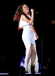 A singer performs during the Closing Ceremony for the 2018 Commonwealth Games at the Carrara Stadium in the Gold Coast, Australia. PRESS ASSOCIATION Photo. Picture date: Sunday April 15, 2018. See PA story COMMONWEALTH Ceremony. Photo credit should read: Martin Rickett/PA Wire. RESTRICTIONS: Editorial use only. No commercial use. No video emulation.