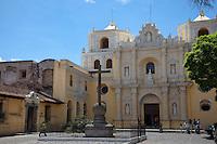 The beautiful La Merced Church in World Heritage, Antigua.