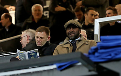 West Bromwich Albion manager Darren Moore in the stands