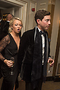 SAMANTHA KETTLE; JAMES DOYLE, Cartier 25th Racing Awards, the Dorchester. Park Lane, London. 10 November 2015
