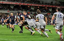 Jarrod Saffy (Rebels).Melbourne Rebels v The Hurricanes.Rugby Union - 2011 Super Rugby.AAMI Park, Melbourne VIC Australia.Friday, 25 March 2011.© Sport the library / Jeff Crow
