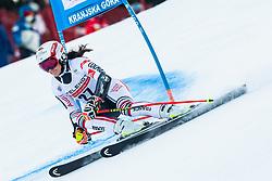 Coralie Frasse Sombet (FRA) during Ladies' Giant Slalom at 57th Golden Fox event at Audi FIS Ski World Cup 2020/21, on January 17, 2021 in Podkoren, Kranjska Gora, Slovenia. Photo by Vid Ponikvar / Sportida