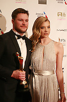 Actor Jack Reynor and Actress Natalie Dormer at the IFTA Film & Drama Awards (The Irish Film & Television Academy) at the Mansion House in Dublin, Ireland, Saturday 9th April 2016. Photographer: Doreen Kennedy