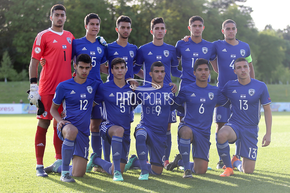 Italy team picture during the UEFA European Under 17 Championship 2018 match between Israel and Italy at St George's Park National Football Centre, Burton-Upon-Trent, United Kingdom on 10 May 2018. Picture by Mick Haynes.