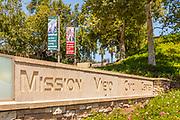 Mission Viejo Civic Center Stone Monument