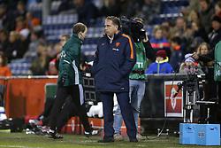 Coach Art Langeler of Jong Oranje during the EURO U21 2017 qualifying match between Netherlands U21 and Andorra U21 at the Vijverberg stadium on November 10, 2017 in Doetinchem, The Netherlands