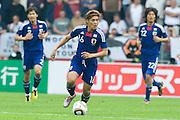 Yoshito Okubo (Japan), May 30, 2010 - Football : World Cup South Africa 2010 test match ,  match between Japan 1-2 England  at Libenau stadium, Graz, Austria, (Photo by Enrico Calderoni/AFLO SPORT) [0391]