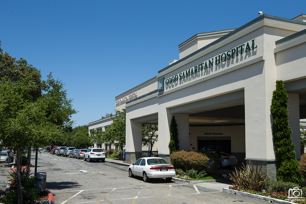 Good Samaritan Hospital photographed in San Jose, California, on July 18, 2017. (Stan Olszewski/SOSKIphoto)