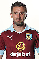 BURNLEY, ENGLAND - JULY 20:  Danny Lafferty of Burnley poses during the Premier League portrait session on July 20, 2016 in Burnley, England. (Photo by Barrington Coombs/Getty Images for Premier League)