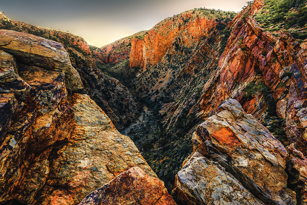 Sunrise at Serpentine Gorge, West Macdonnell Ranges, Northern Territory