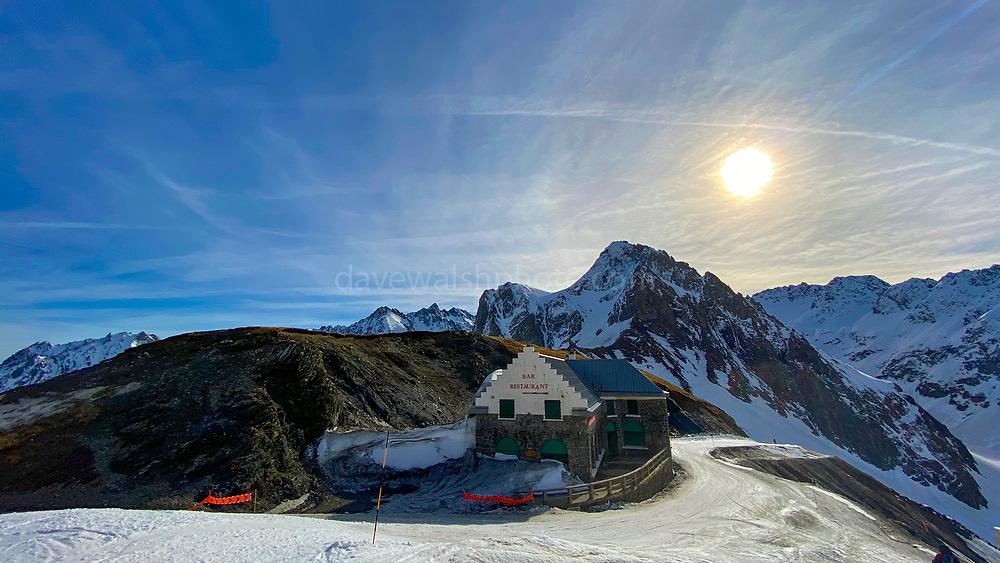 Restaurant Col de Tourmalet, La Mongie ski resort,  Bagnères-de-Bigorre, France.