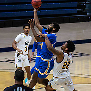January 21 2021 Berkeley, CA  U.S.A.  UCLA Bruins forward Cody Riley (2) drives to the basket during the NCAA Men's Basketball game between UCLA Bruins and the California Golden Bears 61-57 win at Hass Pavilion Berkeley Calif.  Thurman James / CSM