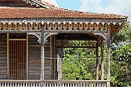 House porch in San Miguel de los Banos, Matanzas, Cuba.