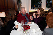 DAVID BAILEY; THE COUNTESS OF LICHFIELD; , Graydon and Anna Carter host a lunch for Carolina Herrera to celebrate the ipening of her new shop on Mount St. .The Connaught. London. 20 January 2010